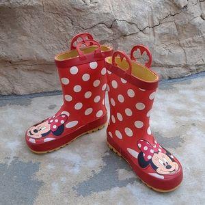 Western Chief Disney Minnie Mouse 10 rainboots